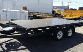 Flat Top Trailers For Sale